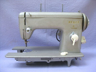PFAFF 40 STRAIGHT Stitch Commercial Grade Sewing Machine Parts Custom Commercial Grade Sewing Machine