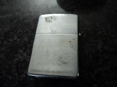 2 Vintage Zippo Lighter Lot 1 1950's and the other 1970's?
