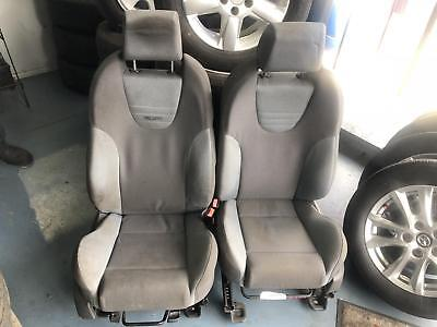 Ford Focus Xr5 Turbo Grey On Grey Recaro Front Bucket Seats Need A Good Clean