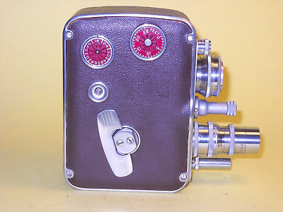 Vintage Bell & Howell 8mm Magazine Camera 172 with 4 lenses  VERY GOOD CONDITION