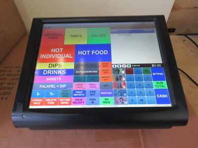POS touch screen system, with integrated Printer. Bar/Restaurant/Cafe #1
