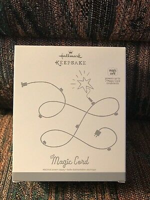 Hallmark Keepsake MAGIC CORD for up to 7 Magic Cord Christmas Ornaments NIB