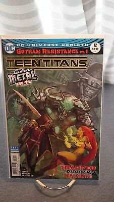 Teen Titans #12 - 1St Printing - 1St Appearance Of Batman Who Laughs
