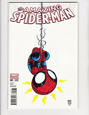 Amazing Spider-man #1 2014 Skottie Young Baby Cute cover Comic NM
