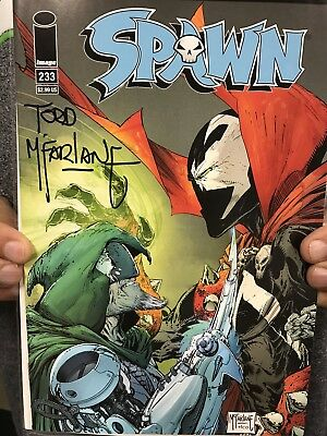 Todd McFarlane SIGNED/AUTOGRAPHED Spawn #233 (NM)