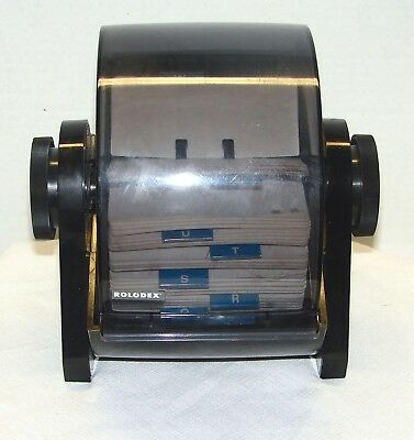 Rolodex Rotary DRF24 Covered File & Cards