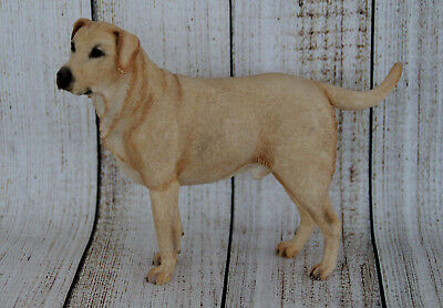 Country Artists Yellow Labrador Standing Dog Figurine-Life Like- Retired OOP NOS