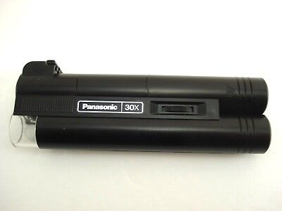 Panasonic Light Scope FF-393 30X Optic Lighted Microscope Tested Working