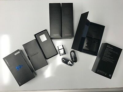 Samsung Galaxy S9 S8 S7 S6 S5 S4 Note8 Note5 Note4 Empty Box & Accessories