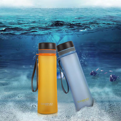 1L Large Drink Water Bottle Training Sports Fitness BPA Free Gym Travel Camping