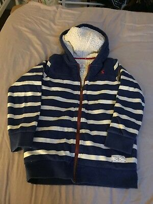 Joules Boys hoodie age 9-10 years. Fleece lined. Good used condition.