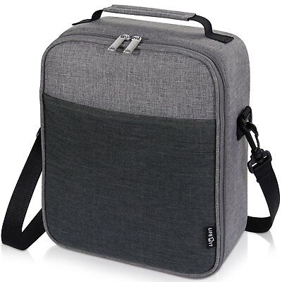 0ad4e6643d1 Lifewit Insulated Lunch Box Lunch Bag for Adults Men Women, Thermal Bento  Bag