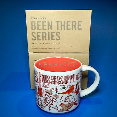 STARBUCKS City Mugs - MISSISSIPPI - BEEN THERE SERIES - *NEW RELEASE* collection
