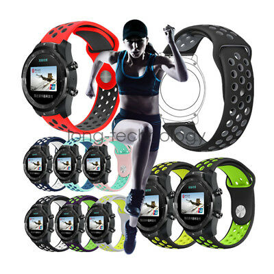 Breathable Soft Silicone Sport Wrist Band Strap for Ticwatch Pro Smart Watch
