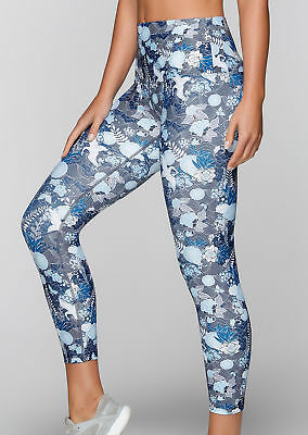 NEW Womens Lorna Jane Activewear   Oriental Core Ankle Biter Tight