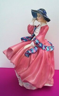 Antique Retired Royal Doulton Figurine 'Top o' the Hill'  HN 1849 Very Old
