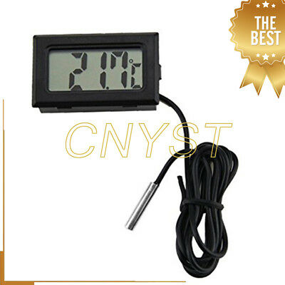 VT-1 Indoor Outdoor Mini Probe Thermometer LCD Digital Temperature Meter Tester