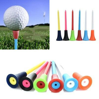 50Pcs 83mm Rubber Top Golf Tees Golfer Training Golf Acceessories For Golf Lover