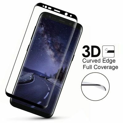 H9 Full 3D Curved Screen Protector Temper Glass For Samsung Galaxy S9 Plus S8 S7