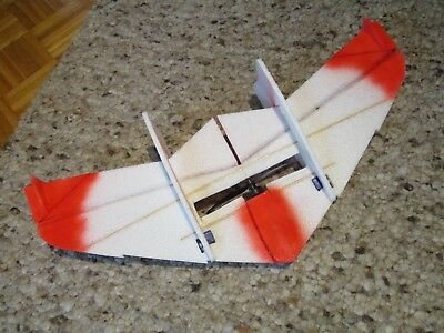Crash Wing, Crack Wing Delta Indoor Shocky Schockflyer BL Antrieb + Servos