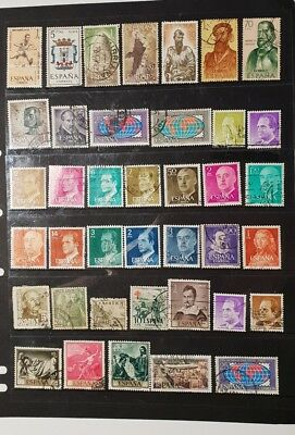 stamps spain  -  Used - Lot 825