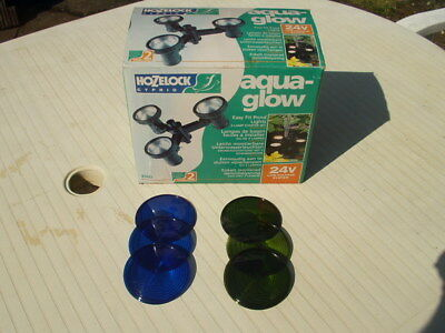 Hozelock Cyprio Aqua Glow Pond Lighting (Coloured Lenses Only-NO Lights)