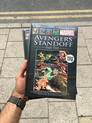 Marvel Ultimate Graphic Novel Collection Issue 170 Avengers Standoff Part Two