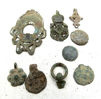 Lot Of  Ancient Roman To Medieval Bronze Artifacts  - E87