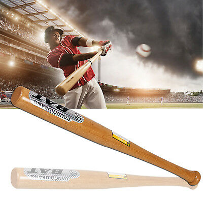 Heavy Duty Wooden Baseball Rounders with or without Softball Bat size 32""