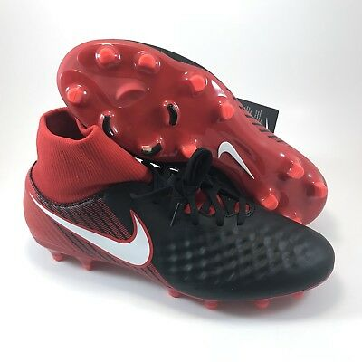 f0eb45424b2c Nike Magista Onda II DF FG Soccer Cleats Size 10.5 Blk University Red 917787 -
