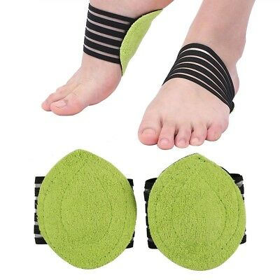 Foot Heel Pain Relief Plantar Fasciitis Insole Pads & Arch Support Shoes Insert!