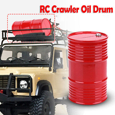 Oil/Gas Tank Container for 1/10 CC01 SCX10 TAMIYA RC 4WD Rock Crawler RC Car Red