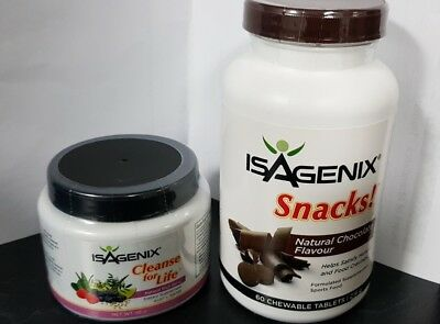 NEW - Isagenix Cleanse for Life Powder with free gift