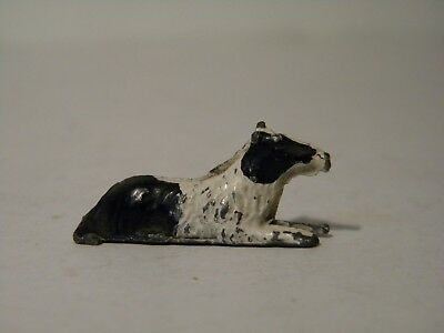 Vintage Made In England Lead Border Collie
