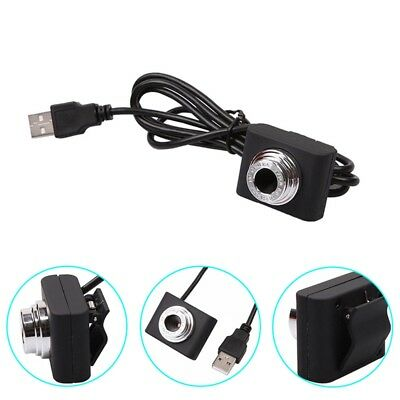 USB 2.0 HD Mini Webcam Camera Web Cam For Skype Computer PC Laptop W/ Clamp X1