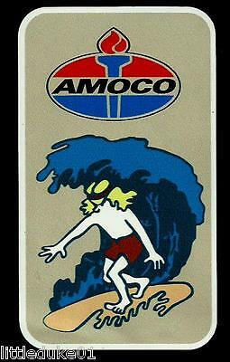 COOLITE AMOCO 1960 Surfboard Manufacturer Sticker Decal LONGBOARD Surfing petrol