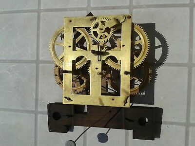 clock movement 880s part victorian usa wall