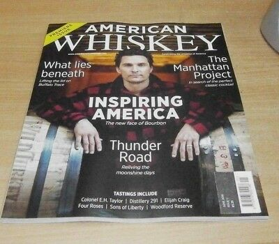 American Whisky magazine Premiere Issue #1 JUN 2018 Manhattan Project, Jim Beam