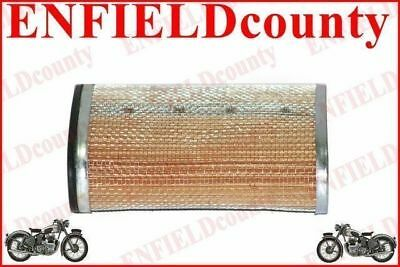 New Lambretta Scooter Oval Air Filter Element Unit Gp Tv Sx Li @aus
