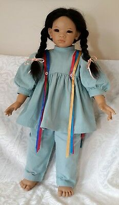 "Annette Himstedt KIMA DOLL 1993/94 #10702 26"" Images of Childhood . BERWICK VIC."