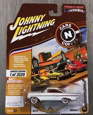 Johnny Lightning Cars N Coffee 1959 Chevy Impala 3220 pcs N17