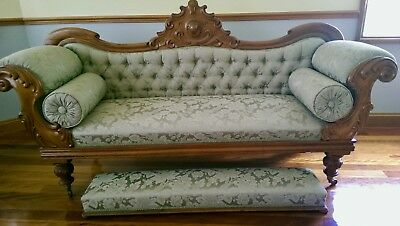 Rare Antique chaise lounge