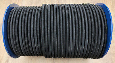 Shockcord/Bungee Cord In Black And White 6mm, 8mm, 10mm