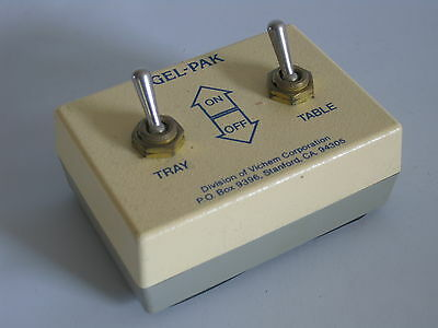 GEL-PAK Tray/Table Vacuum Switch
