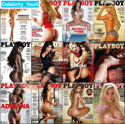 Playboy Brazil Magazines 116 Issues + *Extras*  (2 DVD) Brazilian PDFs Penthouse