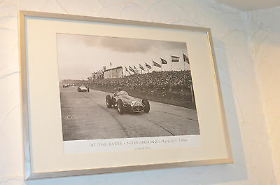 Nürburgring - August 1954 - At The Races - Size 50 X 70 - Mika +32475277772
