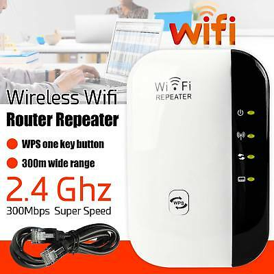 NEW 300Mbps Wifi Repeater N 802.11 AP Range Router Wireless Booster Extender