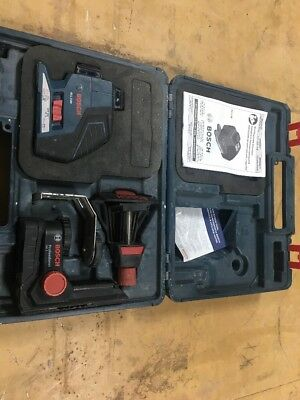 Bosch Gll3-80 Three-Plane Leveling And Alignment-Line Laser