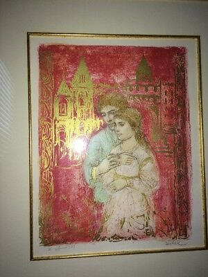 Edna Hibel - Eternal Love- hand signed and numbered Very limited edition