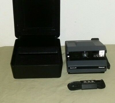 Polaroid Spectra System Camera in Hard Case Excellent Condition